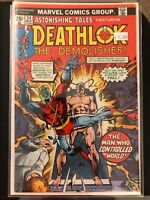 Deathlok The Demolisher #34 Astonishing Tales High Grade Marvel Comic Book