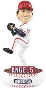 SHOHEI OHTANI ANGELS BOBBLEHEAD FOREVER COLLECTIBLES LIMITED MLB ROOKIE BOBBLE
