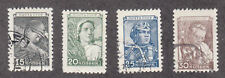 Russia - 1949 - SC 1343-46 - Used - Short set