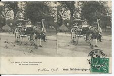 CPA -75- PARIS - Jardin d'Acclimatation - La voiture à Autruche