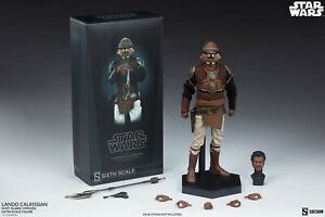 Sideshow Colllectibles Lando Calrissian Skiff Guard Version 1/6 Scale Figure