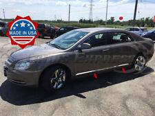 2008 2012 Chevy Malibu 4pc Chrome Flat Body Side Molding Trim 1 Stainless Steel Fits 2012 Malibu