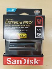 SanDisk Cruzer Extreme Pro 128 GB USB 3.1 SDCZ 880-128g-g46 up to 380 MB/s