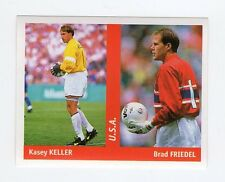 figurina DS CALCIATORI WORLD CUP FRANCE 98 NUMERO 269 U.S.A. KELLER, FRIEDEL
