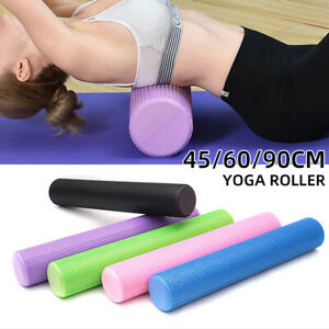 Yoga Foam Roller Fitness 45/60/90cm EVA Physio Yoga Pilate Exercise Home Massage