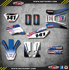 Yamaha TTR 250 -  2006 - 2009 Full custom sticker kit AUSSIE PRIDE style decals
