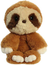 "Aurora 10"" Minkies Sloth Plush Stuffed Animal"