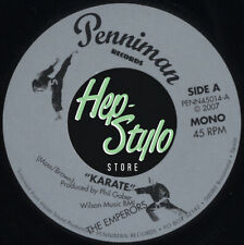 """45Re ✦ THE EMPERORS ✦""""Karate / My Baby Likes To Boogaloo"""" 60s R&B soul 2sider ♫"""
