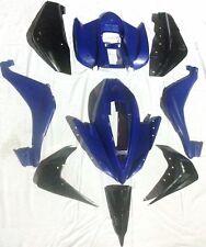 FQB10 BLUE / BLACK 110CC QUAD BIKE FAIRING PLASTICS KIT BODY WORK 001HX