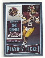 Kirk Cousins 2015 Panini Contenders PLAYOFF TICKET Parallel Ser#d /199