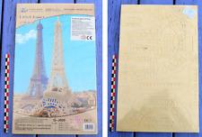 Puzzle 3D en balsa Hélicoptère Tour Eiffel, 73 pièces, neuf sous blister