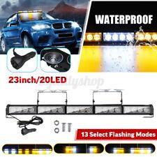 23 inch 20LED Car Truck Roof Windshield Emergency Warning Flash Strobe Light Bar