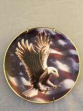 The American Eagle Franklin Mint Heirloom Decorative Plate, Limited Edition 1991