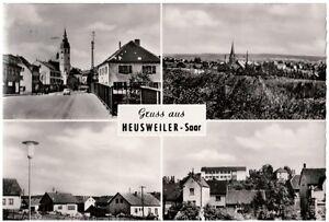 Mehrbild-Ak Heusweiler, Saar, ungelaufen, um 1960 (17a-m)