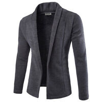 Men's Stylish Casual Slim Cotton Casual Suit Blazer Coats Jackets Outwear Tops