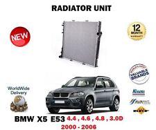für BMW X5 E53 3. 0D 4.4 4.6 4.8 ist 2000-2006 NEU Motorkühlung Raditor Einheit