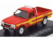 Peugeot 504 Pick-Up 4x4 Dangel Red/Yellow 1985 Norev 475448 1:43