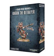 Warhammer 40k Chaos Space Marines Khârn the Betrayer NIB