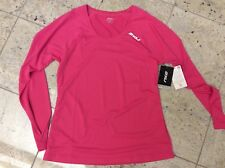 2XU Women's Long sleeve XVent Top hot pink Large NEW