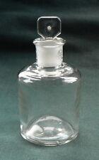 Apotheke Flasche, weißes Glas, Glasstopfen, IDEAL
