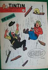 """JOURNAL TINTIN n° 598  """"Le journal des jeunes de 7 à 77 ans Années 1959 / 1960"""""""