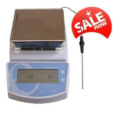 For Lab Hot Plate Magnetic Stirrer Electric Heating Mixer Temperature to 300℃ CE