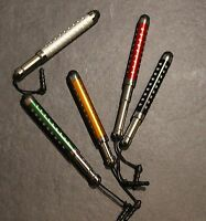 5 x ausziehbarer Touch Stylus Pen Handy Tablet Stift für Iphone Samsung Ipad htc