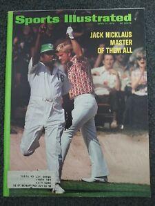 Golf - Jack Nicklaus - 1972 Sports Illustrated Magazine - Complete