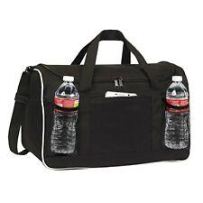 BuyAgain Duffle Bag, 17' Small Travel Carry On Sport Duffel Gym Bag. Black