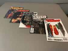 MINT DC Comics Identity Crisis Justice League (#3, #4, #5, #6, #7) Brad Meltzer