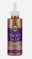 Aleene's Original TACKY GLUE 4 oz All-Purpose High Strength Latex Adhesive 15603