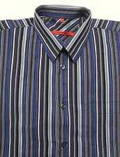 Gestreifte Signum Herren-Freizeithemden & -Shirts aus Baumwolle
