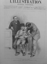 1886 VACCINATION INOCULATION VIRUS RAGE BERGER JUPILLE LABORATOIRE PASTEUR