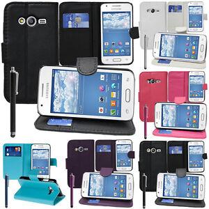 Schutz Case For Samsung Galaxy Trend 2 Lite G318H Handy Brieftasche Flip Box
