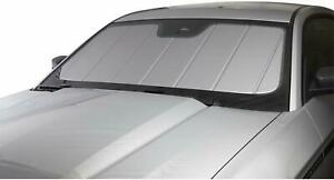 Silver CoverCraft Folding Sun Shade for Toyota Vehicles Heat Wind Shield Bag SV