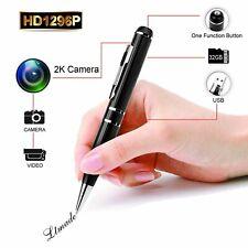 Hidden Spy Camera - Pen DVR Cam 1296P 32G Video Recording Pen OV4689 Full Rea...