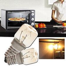LED Oven Light Cooker Hood Bulb SES E14 15W 25W High Temperature 300 Degree Lamp