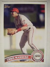CHRIS MARRERO RC GIANTS 2011 Topps Pro Debut baseball card NATIONALS #269 ROOKIE