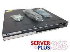 Cisco Catalyst WS-C3750X-12S-E Fiber Switch, 12 Gigabit Ethernet SFP Ports
