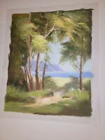 "Landscape Hand Painted High Quality Oil Painting on Canvas 16""x 20"" unframed 002"