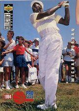 Michael Jordan - 1994-95 Upper Deck Collectors Choice Pro Files Golf #204 Card
