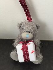 RARE ME TO YOU SOFT TATTY TEDDY BEAR XMAS TREE HANGING DECORATION - WHITE PARCEL