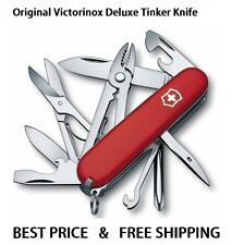 1.4723 VICTORINOX SWISS ARMY POCKET KNIFE DELUXE TINKER RED 17 TOOLS 53481