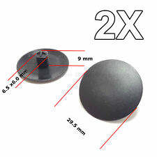 2X Hood Insulation Retainer, Tree Button Retainer Car Clips for Honda