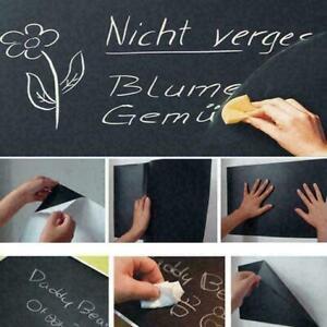 Blackboard Vinyl Chalkboard Decal Memo Mural Wall Sticker O0N6 Y1C4 New J8W6