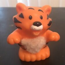 Fisher Price Little People Touch And Feel Zoo Tiger Fuzzy 2005