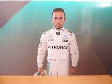 Lewis Hamilton 1:18 1:43 Affichage Carte diorama Pit Background F1 MERCEDES NEUF