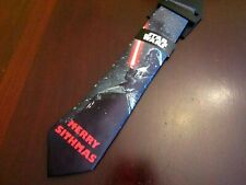 mens star wars tie nwt merry sithmas