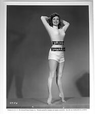 VINTAGE Photo PIPER LAURIE Original BUSTY Barefoot HOT LEGS Toes SEXY