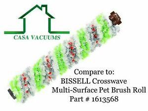 2306 Multi-Surface Pet Brush Roll for Bissell Crosswave 1785 1608683, 160-8683